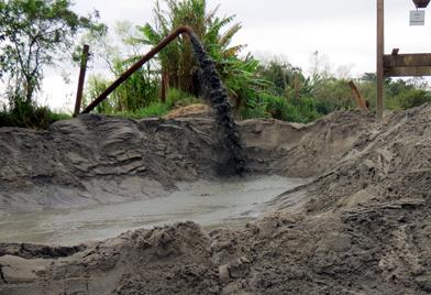 Extração de Areia